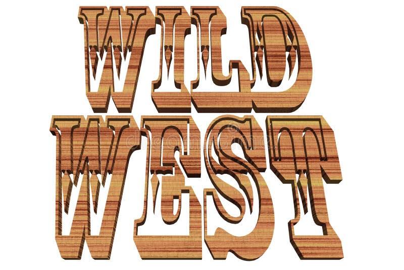 Wilder Westen lizenzfreie stockbilder