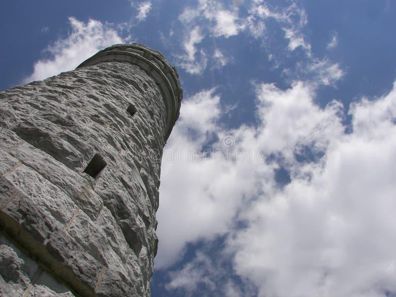 Wildere Toren royalty-vrije stock afbeelding