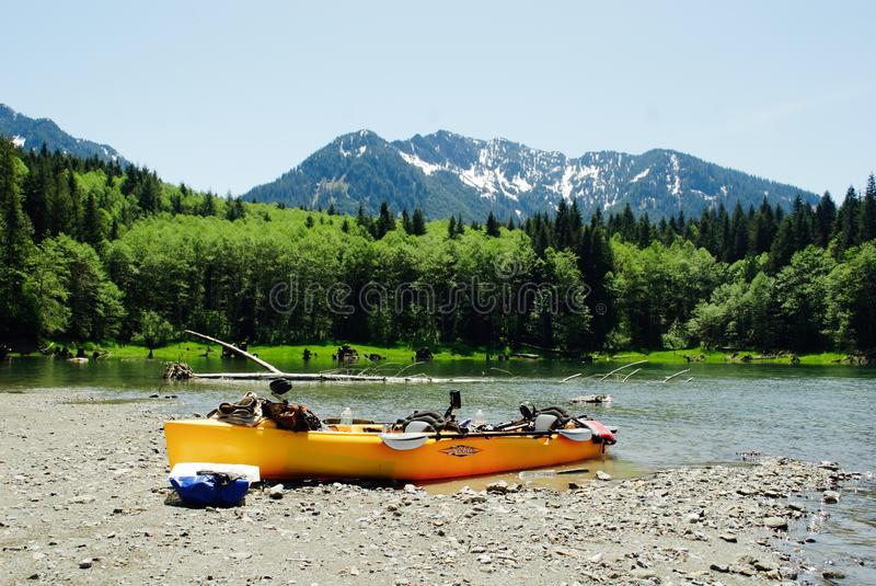 Wilderness, Boat, Boats And Boating Equipment And Supplies, Kayak royalty free stock photography