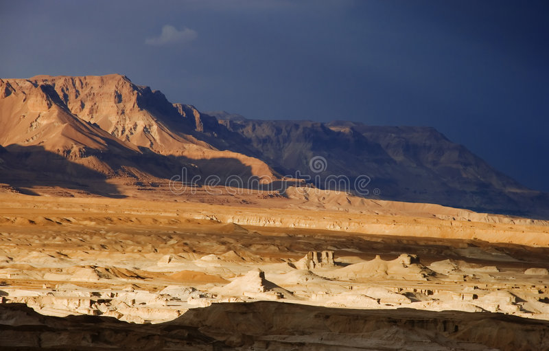 Wilderness Of Judea Stock Photo