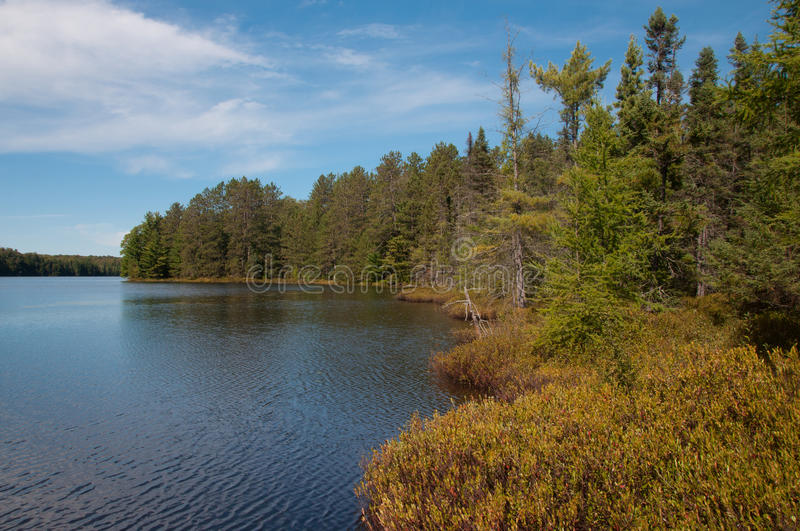 Wilderness Lake stock photography