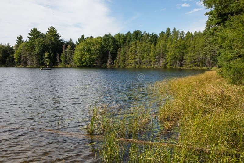 Wilderness See stockbild