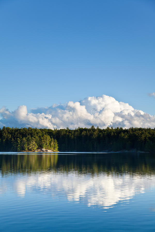 Download Wilderness Vista Vertical stock photo. Image of serene - 26641060