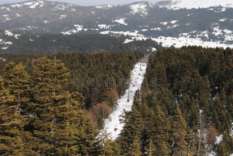 Wilderness, Winter, Snow, Mountain royalty free stock image