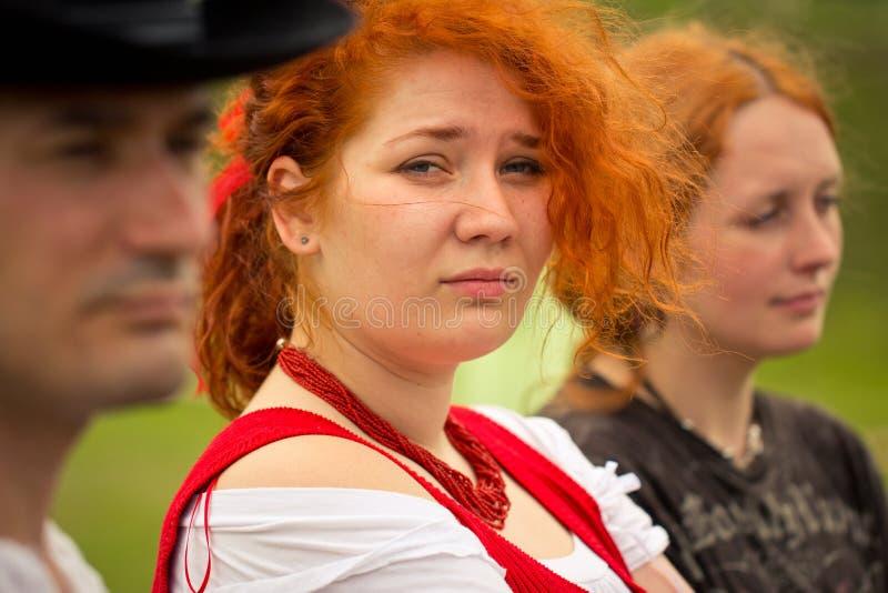 Wildes Westschnell 2012, Nezhyn, Ukraine lizenzfreies stockbild