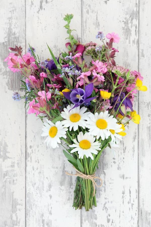 Wildflower Posy stock photo
