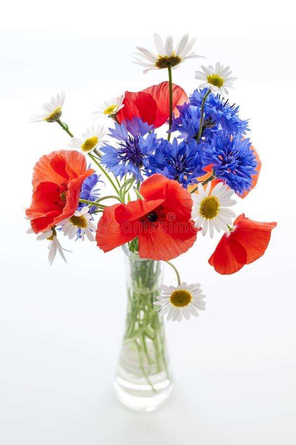 Wildflowerblumenstrauß stockbilder