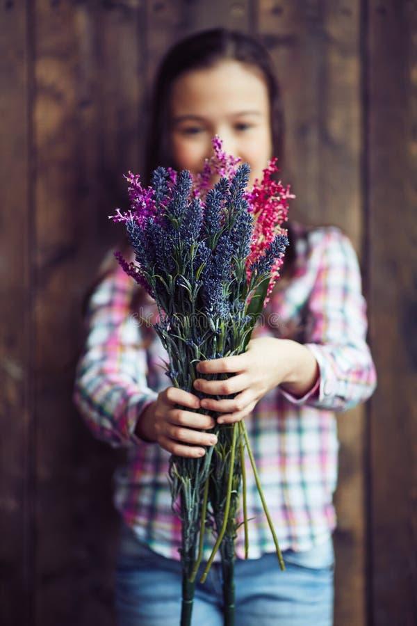 Wildflowerboeket royalty-vrije stock afbeelding