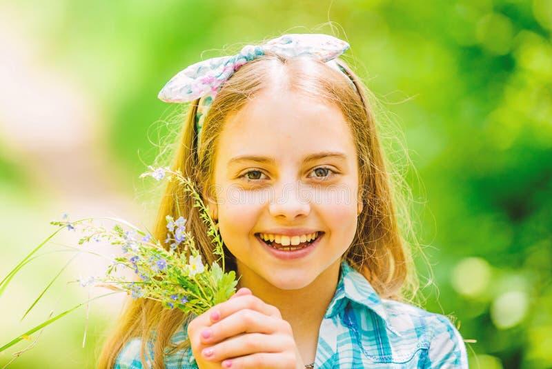 Wildflowers r : o   счастливые wildflowers владением ребенка o стоковые изображения rf