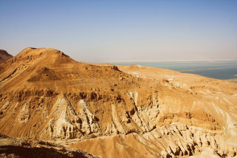 Wildnis von Judea von Israel stockfotos