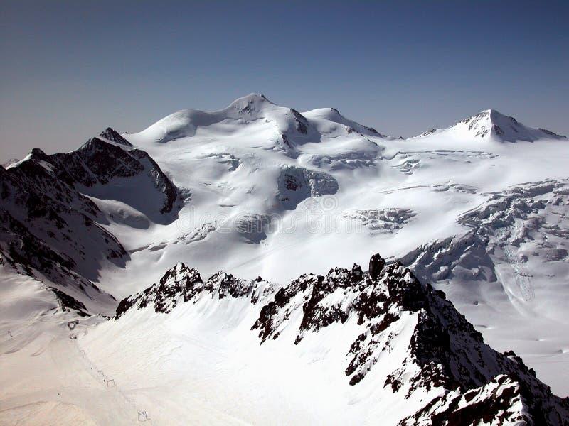 Wildspitze in Austria immagine stock