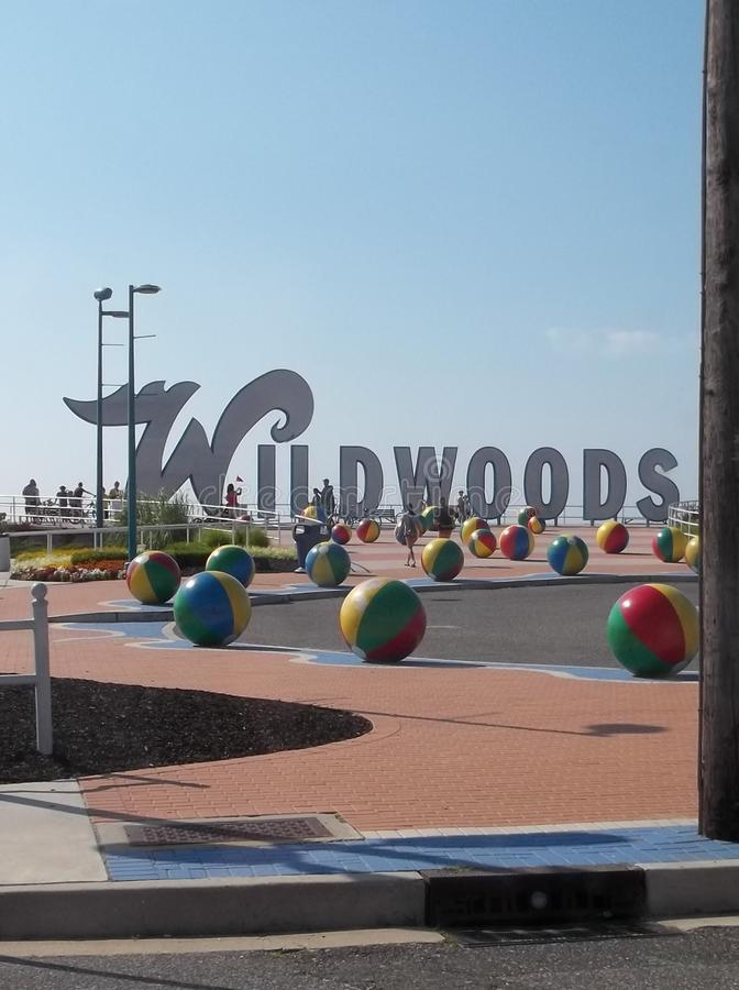 Wildwood New Jersey royalty free stock photos