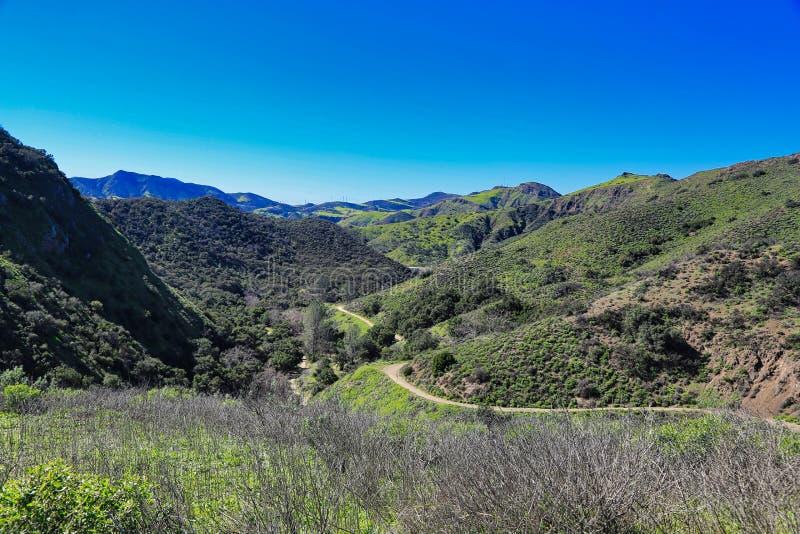 Wildwood parka Tysiąc dębów Kalifornia ścieżka zdjęcie royalty free