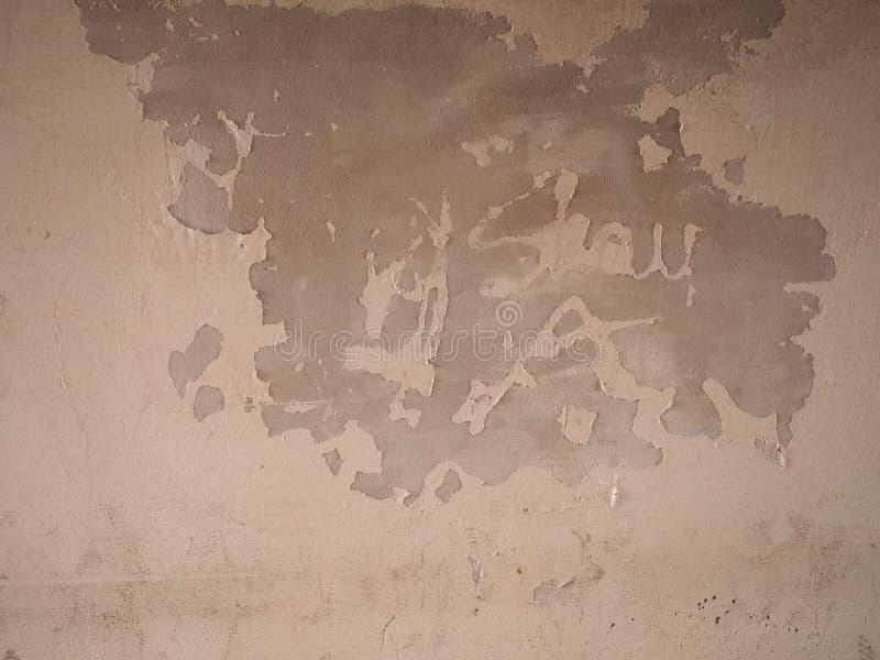Wilgotna wilgoć na ścianie zdjęcie royalty free