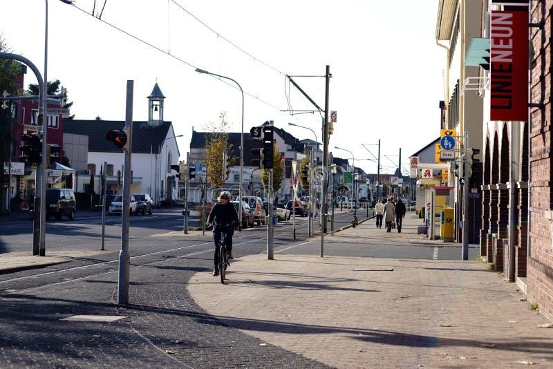 Wilhelm-Leuschner-rue Griesheim photos libres de droits