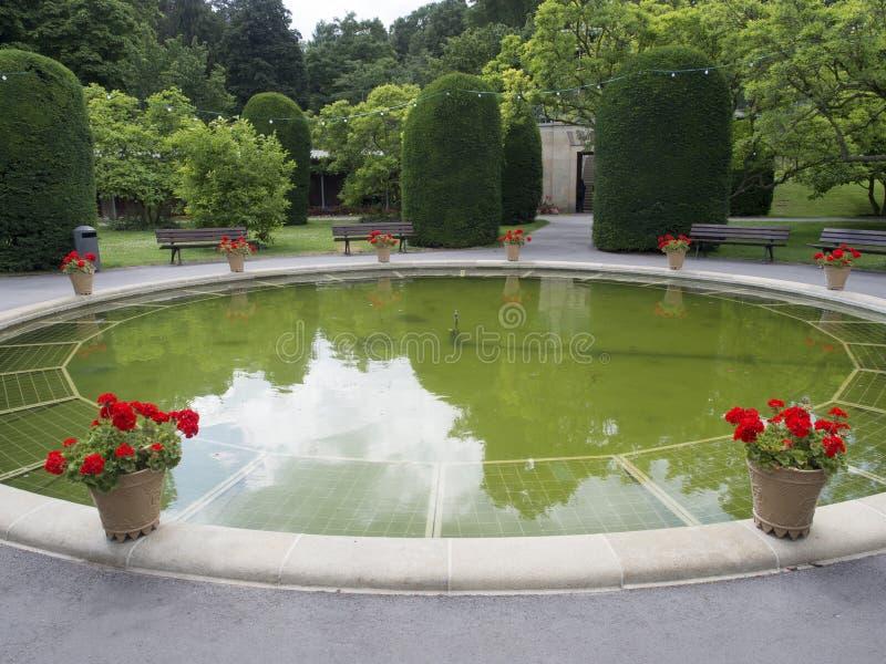 Wilhelma-Gärten, Stuttgart lizenzfreies stockfoto