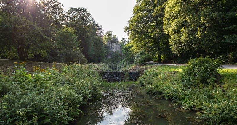 Wilhelmshoehe Кассель landschaftspark мост-водовода gemany стоковые фото