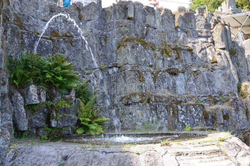 Wilhelmshoehe kasztelu park w Kassel obrazy royalty free