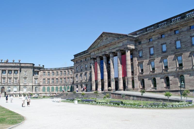 Wilhelmshohe kasztel Kassel fotografia royalty free