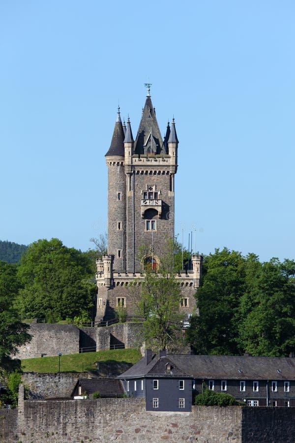 Wilhelmsturm wierza w Dillenburg zdjęcia stock