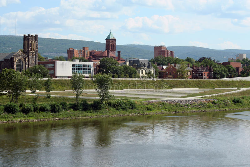 Wilkes-Barre, Pennsylvania Stock Photo