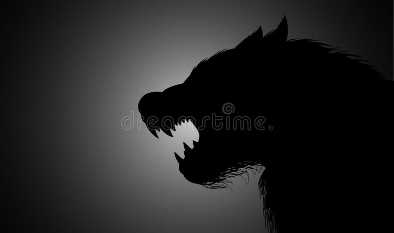 wilkołak ilustracja wektor