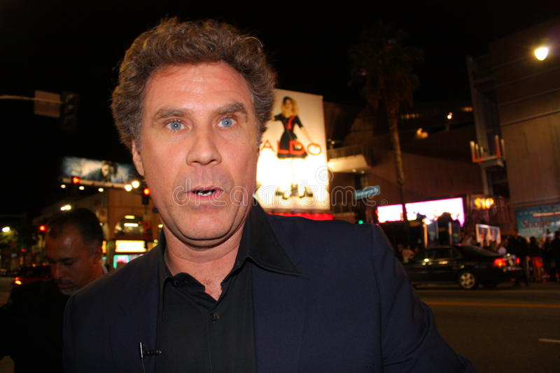 Will Ferrell royalty-vrije stock fotografie