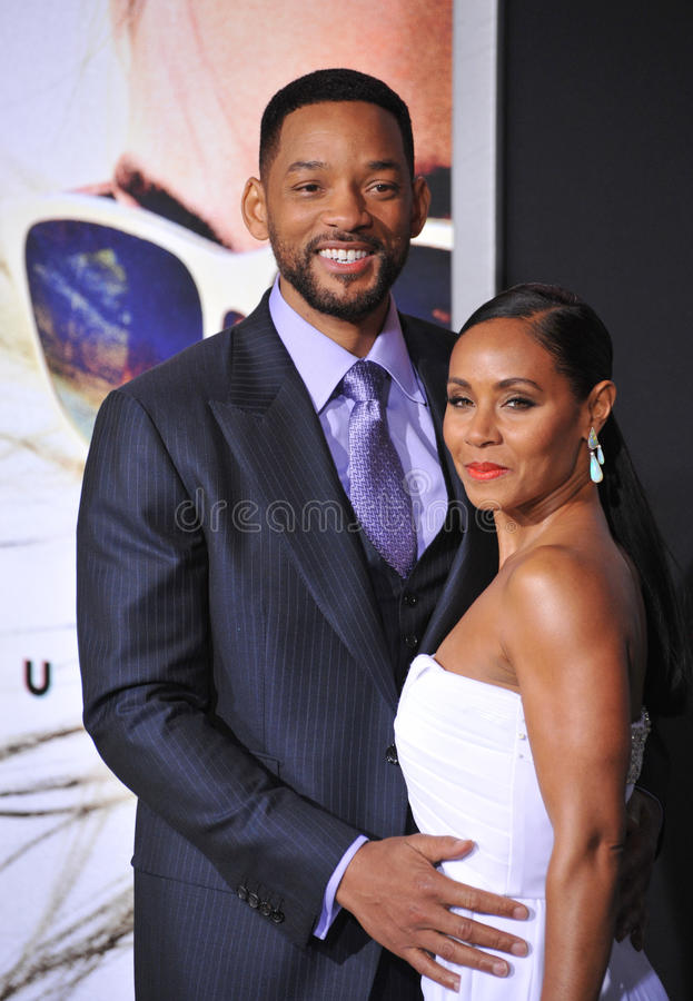 Will Smith Pinkett Smith & Jada zdjęcia stock