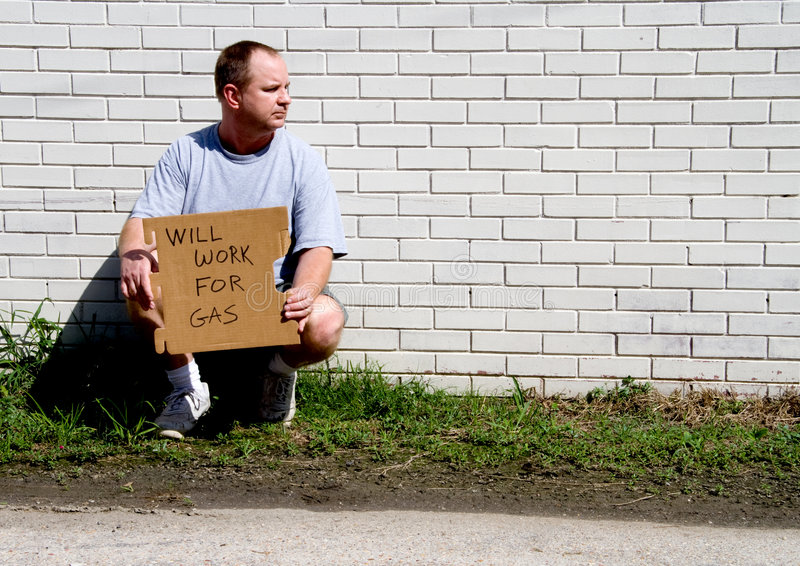 Download Will Work for Gas stock image. Image of panhandling, need - 6384559