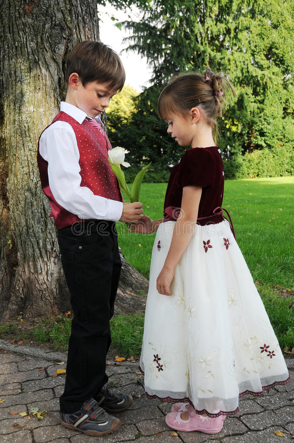 Download Will you be my girl friend stock photo. Image of children - 33907198