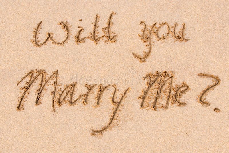 Will You Marry Me? Stock Photos - Image: 17769103