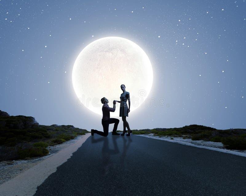 Resultado de imagem para will you marry me moon