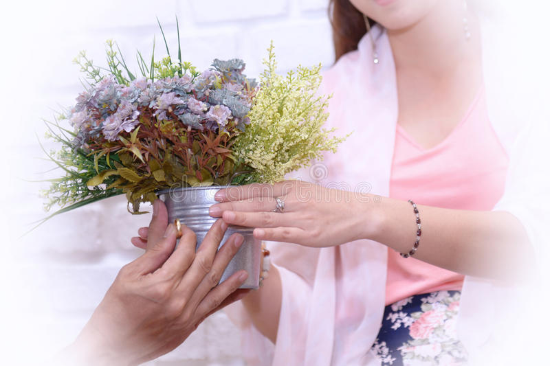 Will you marry me stock images