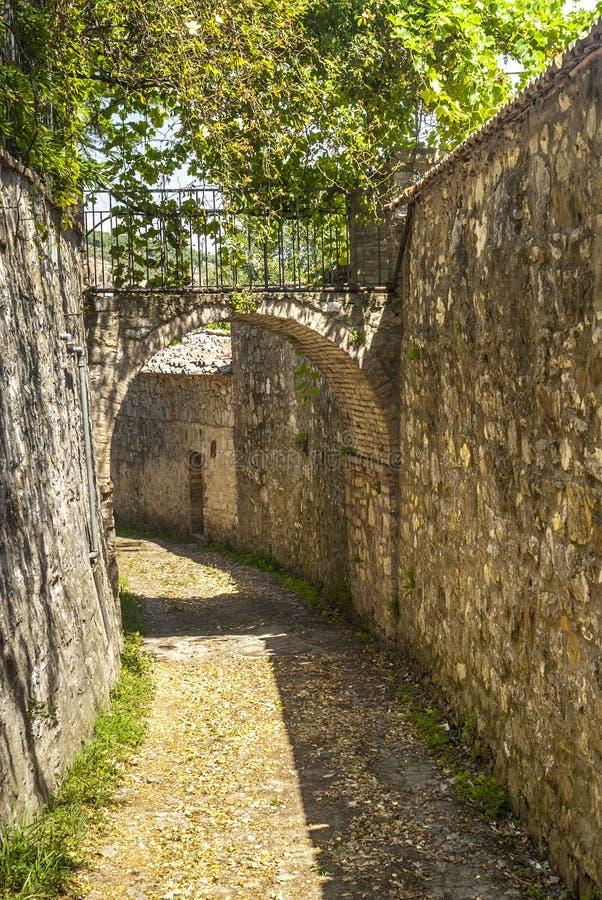 Willa Sesta Chianti, Tuscany (,) fotografia stock