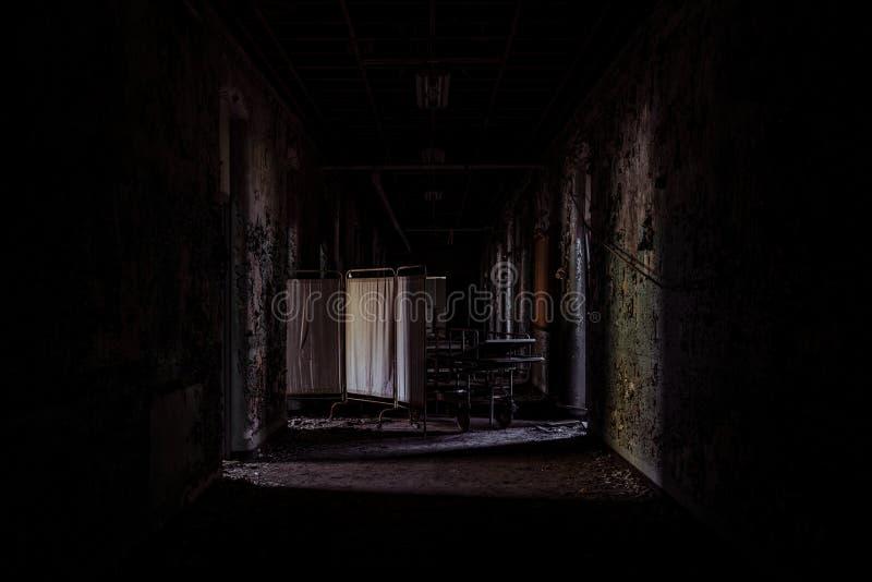 Willard Asylum para o insano/hospital do Estado - Willard, New York imagens de stock