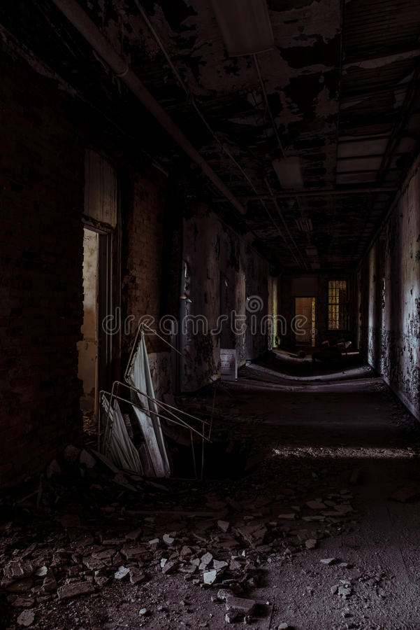 Willard Asylum per l'insano/ospedale statale - Willard, New York fotografie stock libere da diritti