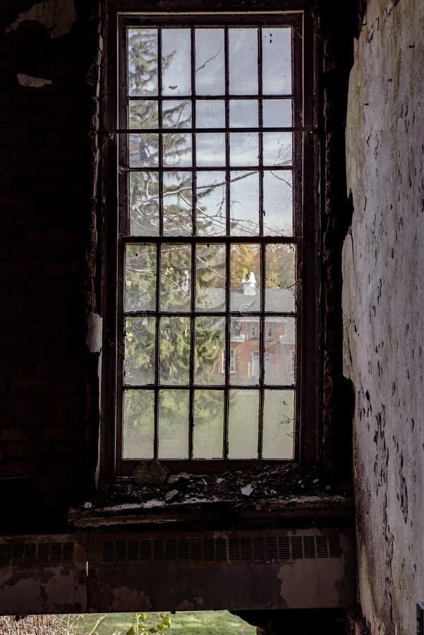Willard Asylum per l'insano/ospedale statale - Willard, New York fotografie stock
