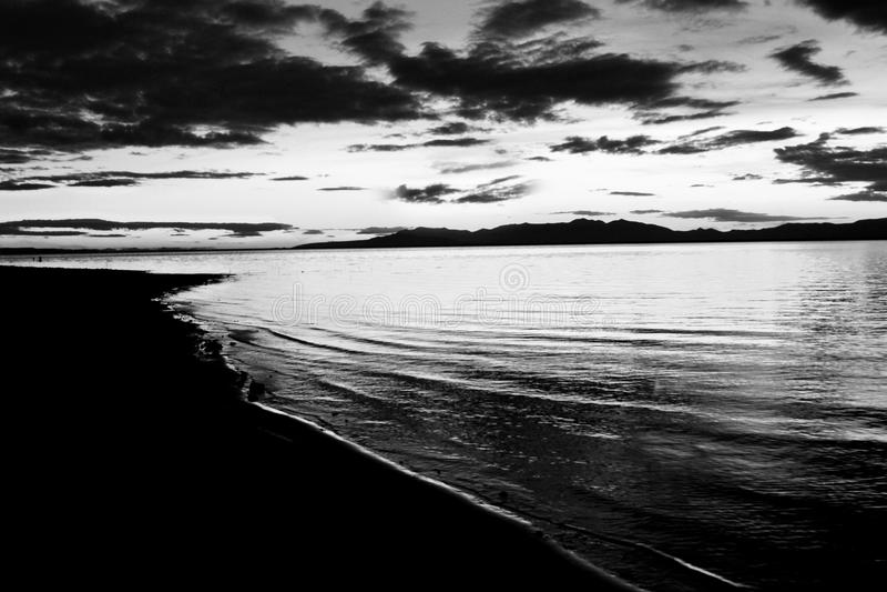 Willard Bay fotografie stock libere da diritti