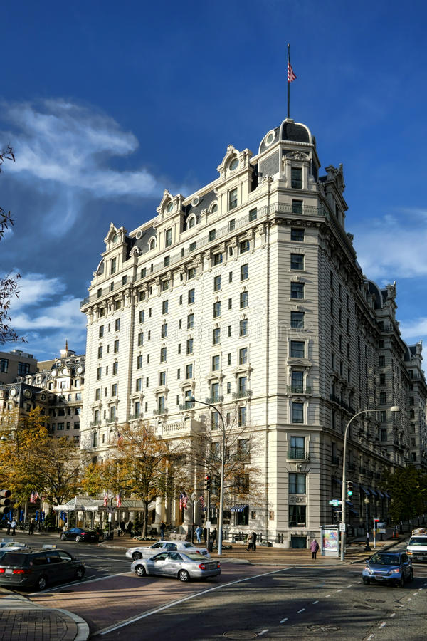 Willard Hotel Landmark historique dans le Washington DC photos libres de droits