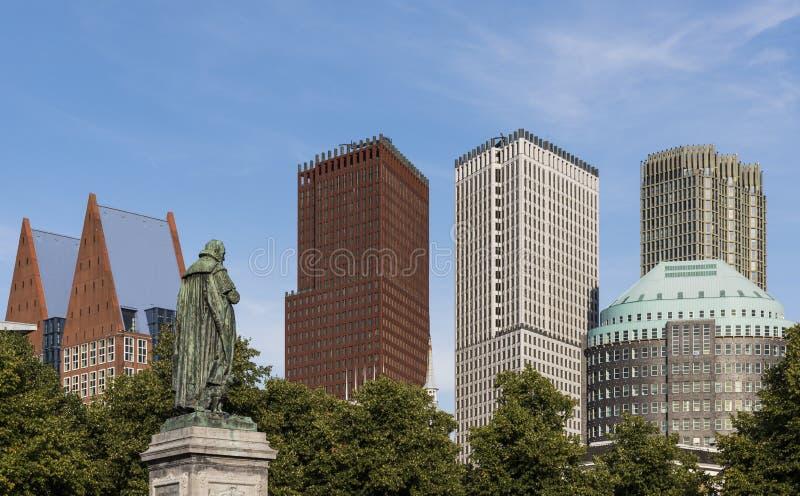 Willem van Oranje The Hague royalty-vrije stock fotografie