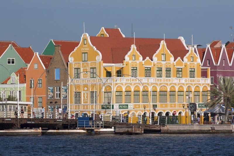 Willemstad,库拉索岛 免版税库存照片
