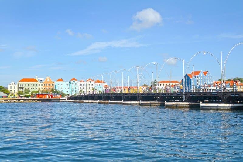 Willemstad,库拉索岛  库存照片