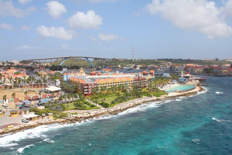 Willemstad auf der Insel Curacao, Niederländische Antillen lizenzfreies stockfoto