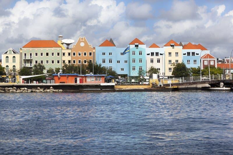 Willemstad colorido fotografía de archivo