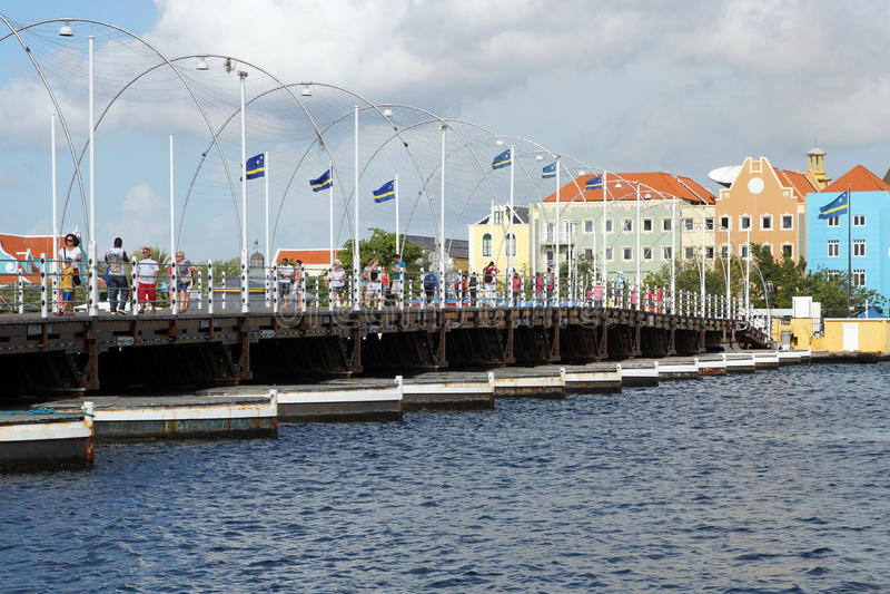 Willemstad, Curaçao, îles d'ABC photographie stock libre de droits