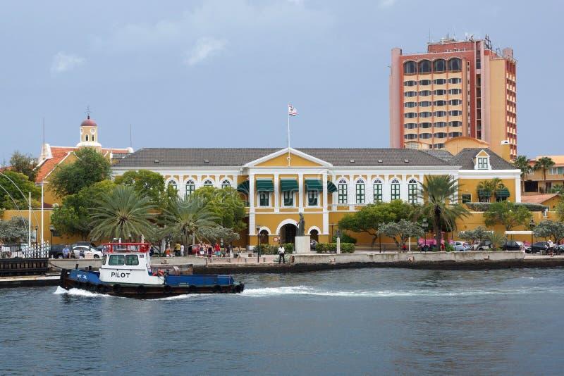 Willemstad, Curaçao, islas de ABC imagen de archivo