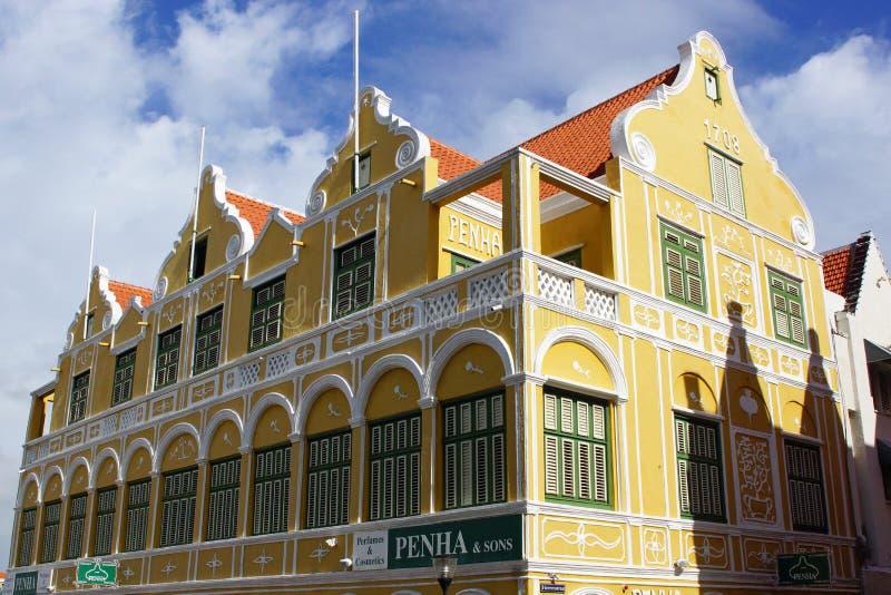 Willemstad, Curaçao, islas de ABC fotos de archivo