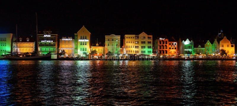 Willemstad, Curaçao, islas de ABC fotos de archivo libres de regalías