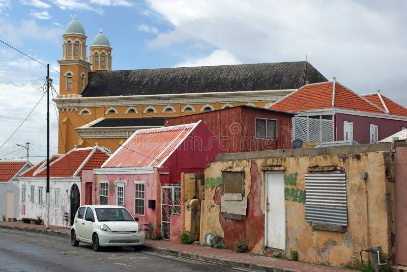 Willemstad, Curaçao, islas de ABC imágenes de archivo libres de regalías