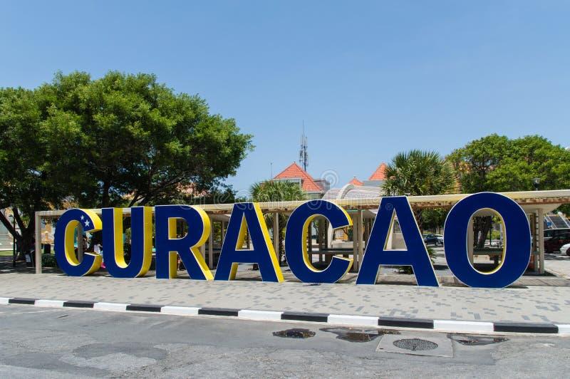 Willemstad, Curaçao, islas de ABC fotografía de archivo libre de regalías